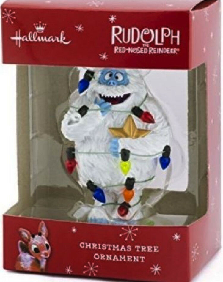 Bumble Abominable Snowman Ornament Rudolph Island Of