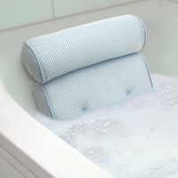 Bath Tub Spa Pillow Cushion Neck Back Support Foam Comfort ...