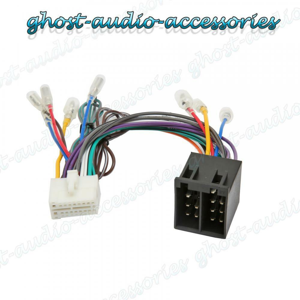hight resolution of clarion nx iso wiring harness connector adaptor car stereo radio loom cla 100