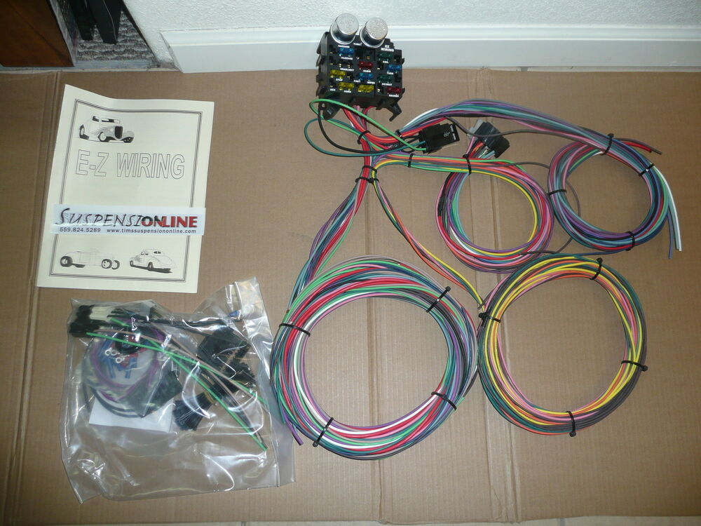 Universal Car Wiring Harness