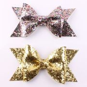 gold silver baby girls hair clips