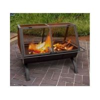 Outdoor Fireplace Fire Pit Wood Burning Chiminea Portable ...