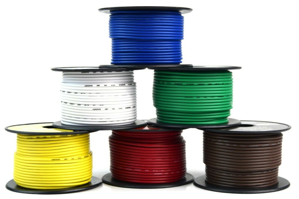 hight resolution of details about 6 way flexible cord trailer wire harness light cable led 18 gauge 100ft 6 colors