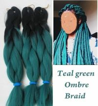 """24"""" Ombre Two tone Synthetic Braid Locs Hair Extension ..."""