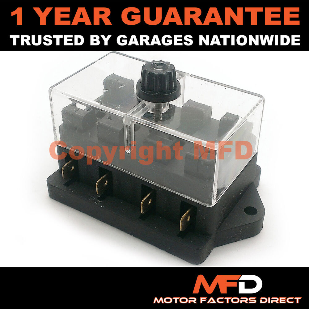 medium resolution of details about car motorcycle quad bike fits 99 cars 4 way universal standard 12v fuse box