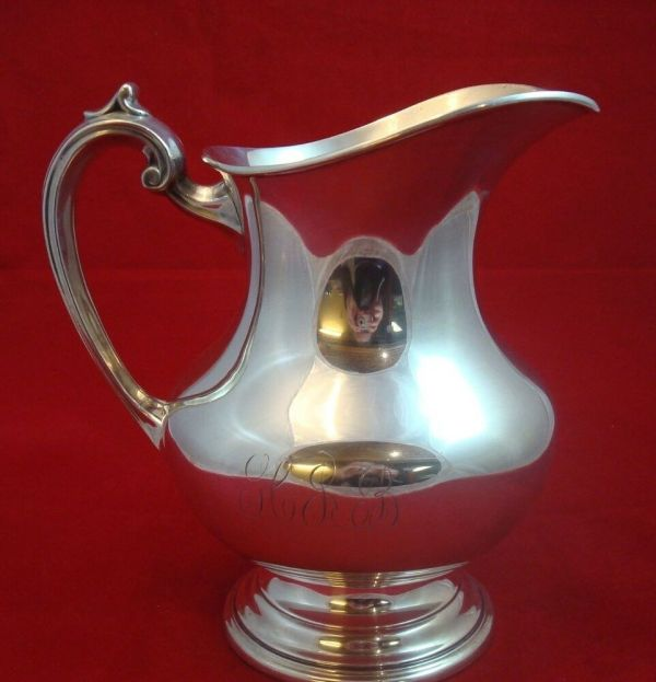 Sterling Silver Water Pitcher Reed & Barton