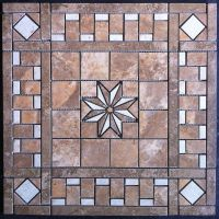 "21 1/2"" Ceramic Tile Medallion"