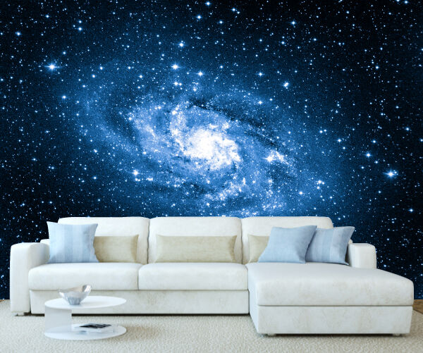 3d Brick Mural Wallpaper Space Galaxy Milky Way Wall Mural Photo Wallpaper Picture