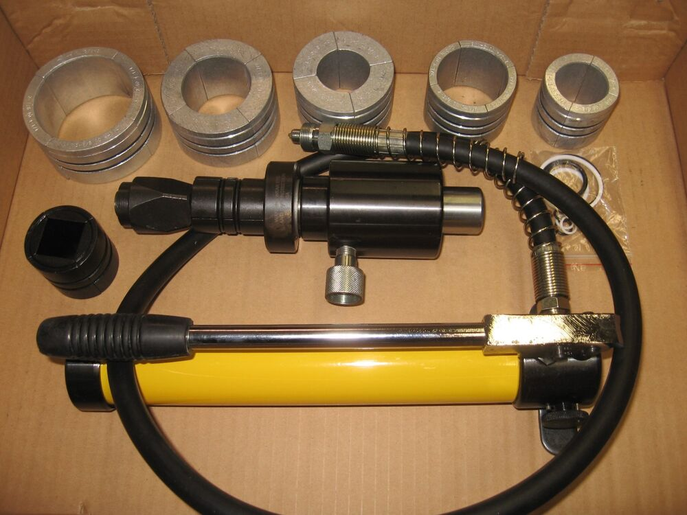 HYDRAULIC EXHAUST PIPE EXPANDER STRETCHER TAILPIPE 1 5/8