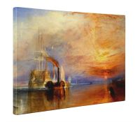 William Turner The Fighting Temeraire Box Canvas Print
