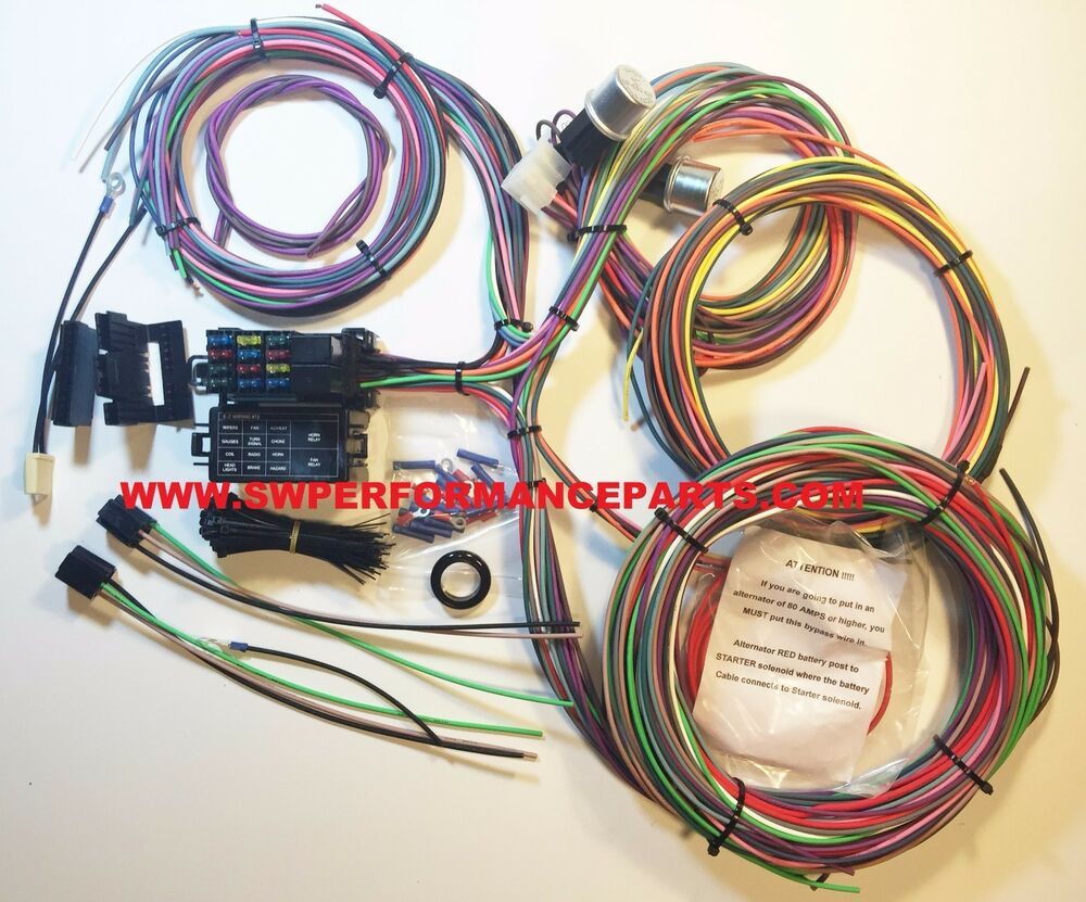 hight resolution of new ez wiring 12 circut mini fuse wiring harness chevy ez wire fuse box mount instructions