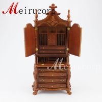 Dollhouse 1/12 scale miniature furniture Hand Carved Study ...