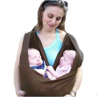 Infant Baby Cotton Sling Fashion Front Carrier Twins Knit ...