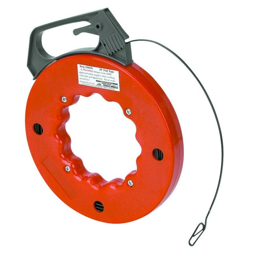 """Centech 50"""" Fish Tape Cable Wire Puller Threader"""