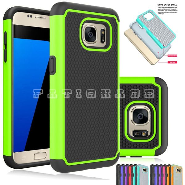 Mobile Phone Case Cover Dual Layers For Samsung Galaxy S7