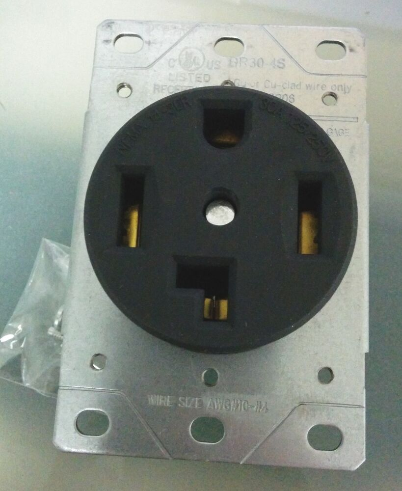 Outlet 4 Wire Dryer Receptacle Wiring Further Wiring Diagram 4 Wire