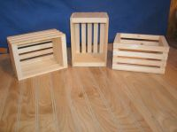 small wooden crates,wood storage crate, | eBay