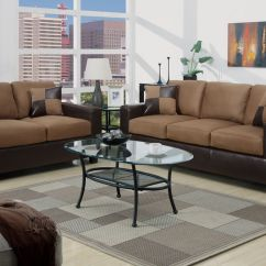 Bobkona Sofa Set Friends 5pc Modern Micro Suede And Love Seat Living Room ...