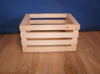 5 small wooden crates, wooden storage crate | eBay
