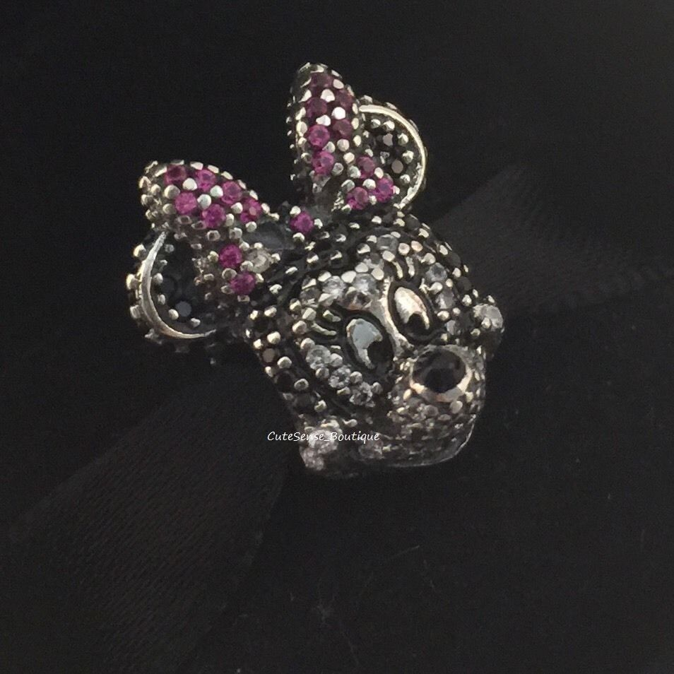 Disney LIMITED Edition PAVE MINNIE MOUSE PORTRAIT Sparkle Charm PANDORA NEW EBay
