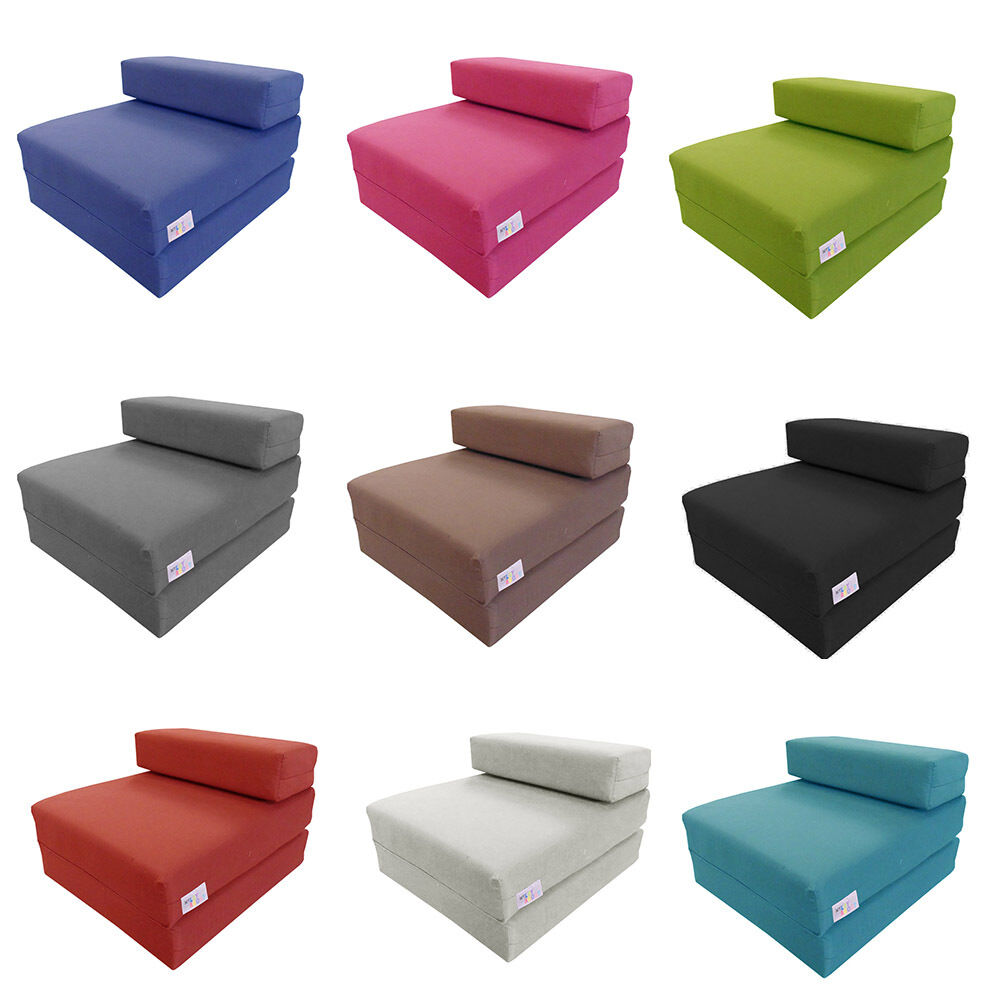 Foam Fold Out Chair Mylayabout Kids Memory Foam Z Bed Fold Out Spare Guest Bed Chair Futon Mattress Ebay