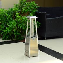 Outsunny 3kw Deluxe Patio Pyramid Heater Table Top Gas