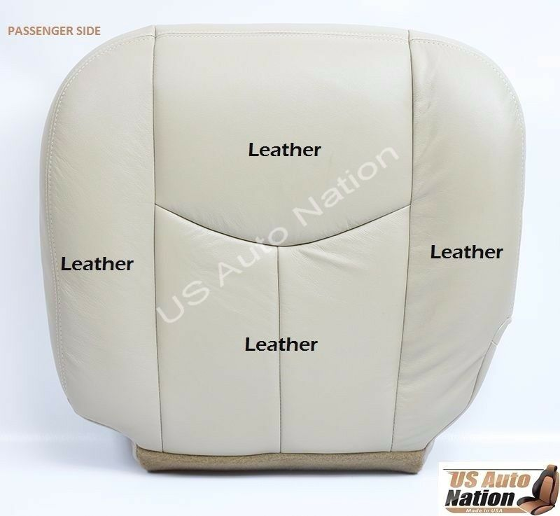 2003 2004 Chevy Tahoe Lt Ls Z71 Front Leather Seat Cover