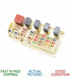 details about 2001 2003 lexus es300 integrated supply interior engine fuse relay box oem [ 1000 x 1000 Pixel ]