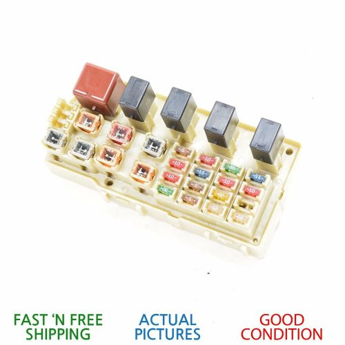 small resolution of details about 2001 2003 lexus es300 integrated supply interior engine fuse relay box oem