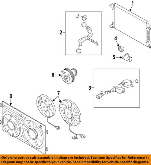small resolution of details about vw volkswagen oem 05 14 jetta engine coolant thermostat 07k121113b