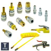 T Style Automotive Quick Coupler Air Hose Connector ...
