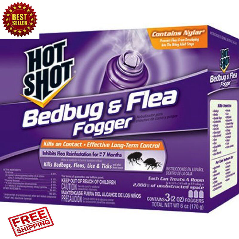 3-Pack Bed Bug Bomb Insect Fogger Kill Mosquito Flies ...
