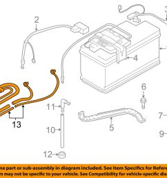 2007 bmw 328i battery wiring wiring diagrambmw oem 07 13 328i battery cable 61129125036 ebaydetails about [ 1000 x 798 Pixel ]