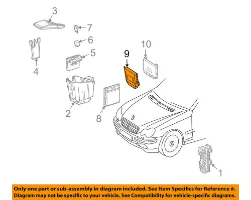 small resolution of mercedes oem 2004 clk55 amg electrical control module 0345454232 ebaydetails about mercedes oem 2004 clk55 amg