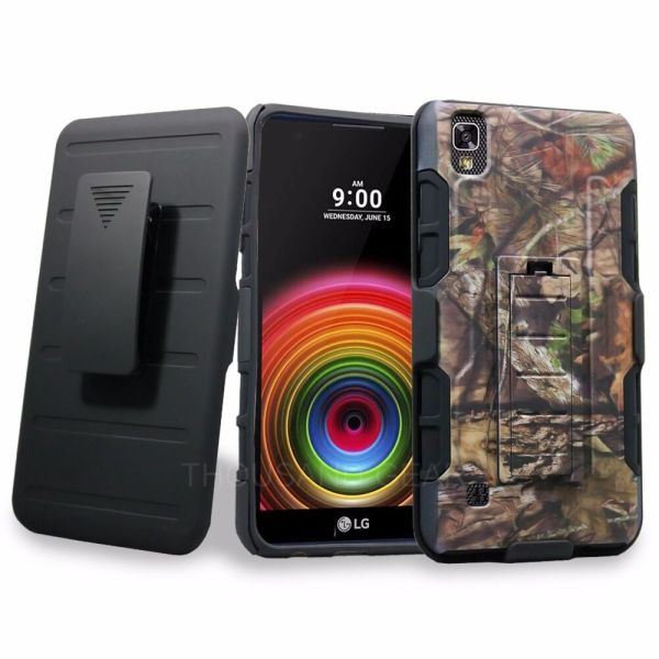Lg Tribute Hd X Style Holster Case Kickstand