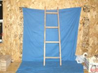Rustic Country Wooden Ladder 42 in., Blanket ladder ...