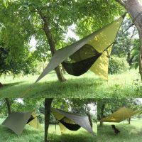 Portable Camping Hanging Hammock Tree House Tent Outdoor ...