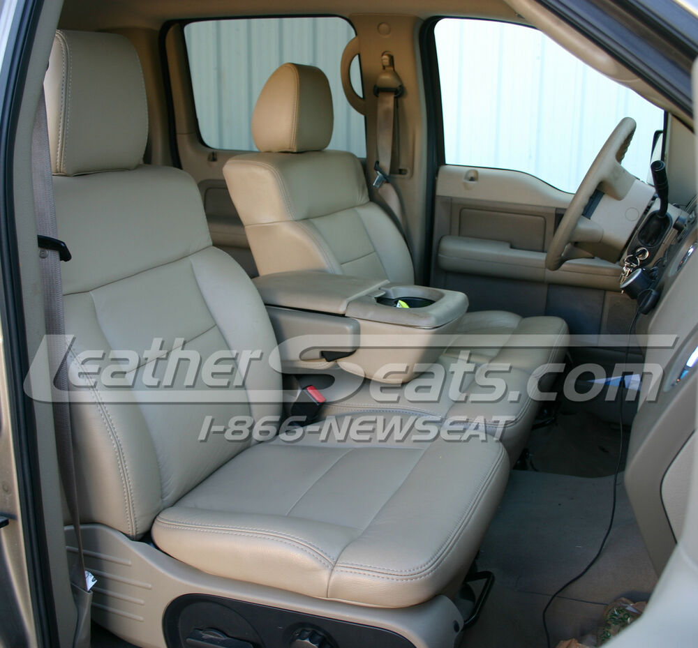 2004  2008 Ford F150 Supercrew Or Cab Leather Seat Cover