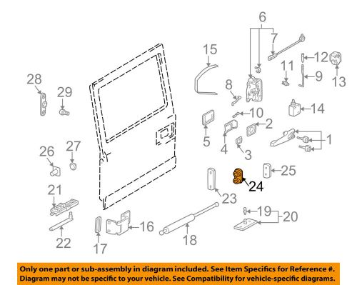 small resolution of details about mercedes oem 02 05 g500 back door end plate 4637400003