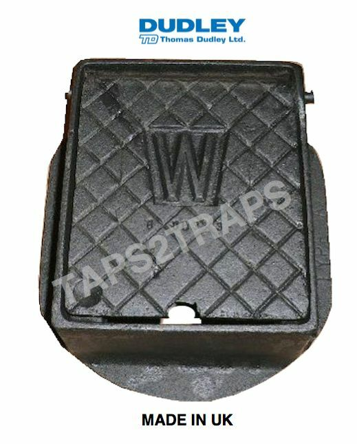 CAST IRON STOP COCK STOPCOCK BOX WATER METER INSPECTION COVER 6 X 5  eBay