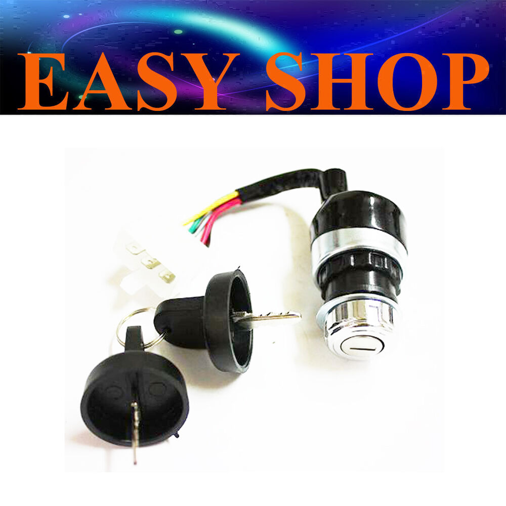 medium resolution of details about 5 wires ignition switch key for diesel generator atv halley motorcycle engine