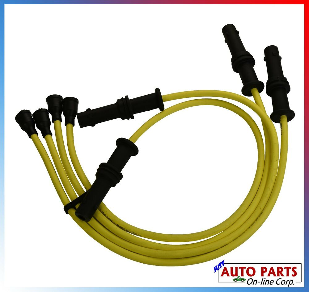 hight resolution of details about new ignition wires set for subaru impreza 93 96 h4 1 8l 2 2l legacy 90 96 2 2l