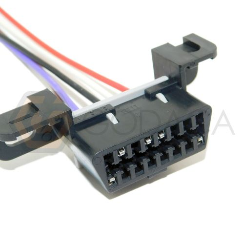 small resolution of details about 1x connector 16 way 16 pin for obdii obd2 for gm chevrolet 1p1474