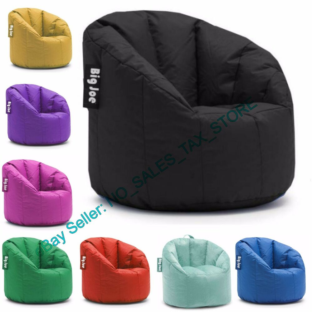 big joe milano bean bag chair grey leather club multiple colors available comfort for details about kids adult