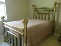 Antique Solid Brass Bed Full Size | eBay