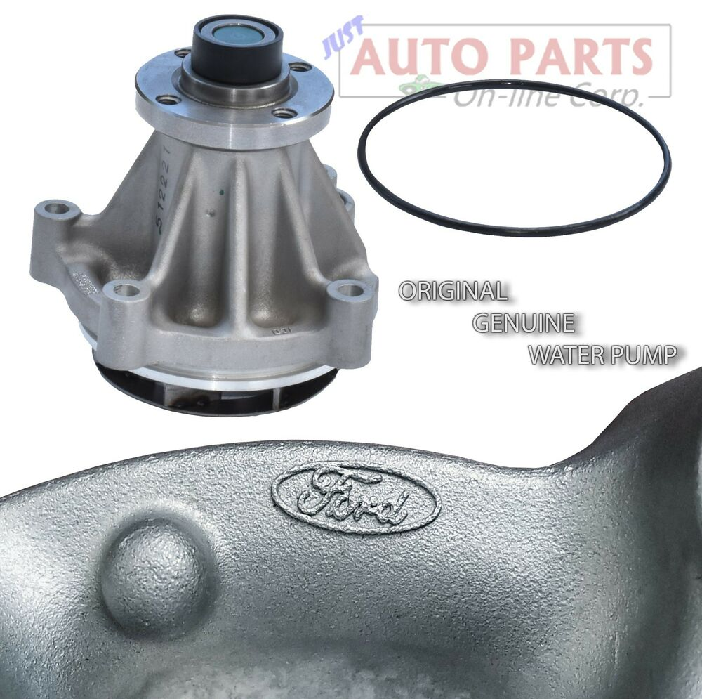 hight resolution of details about new genuine water pump ford f150 250 350 e series excursion 4 6l 5 4l v8 97 16
