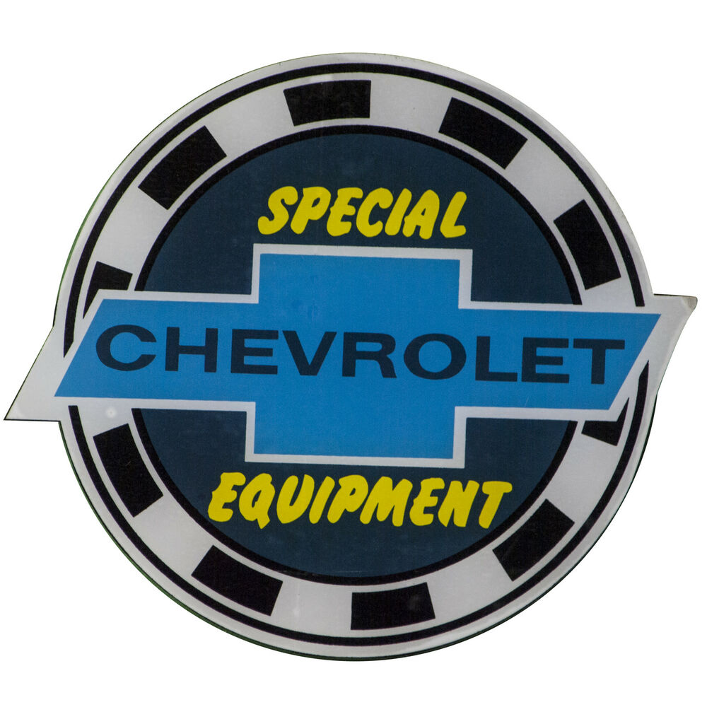 Chevy Chevrolet Special Equipment Parts Window Decal