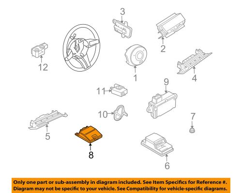 small resolution of details about bmw oem 03 05 z4 airbag air bag srs side impact sensor 65776974366