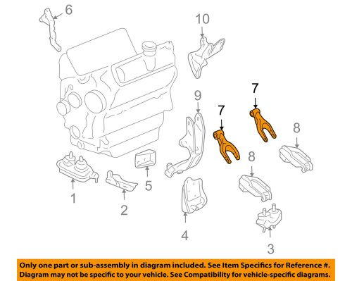 small resolution of details about gm oem engine motor mount torque strut 10345905