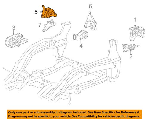 small resolution of details about chevrolet gm oem engine transmission mounting upper transmission mount 13287955